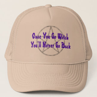 Once You Go Witch Trucker Hat