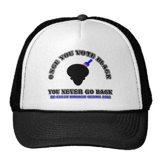 Once You Vote Black-ReElect Barack Obama 2012 Hats