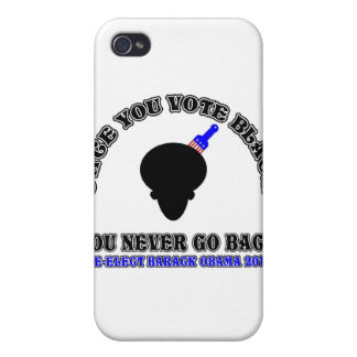 Once You Vote Black-ReElect Barack Obama 2012 iPhone 4 Cover
