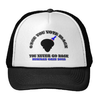 Once You Vote Black-You Never Go Back Trucker Hat