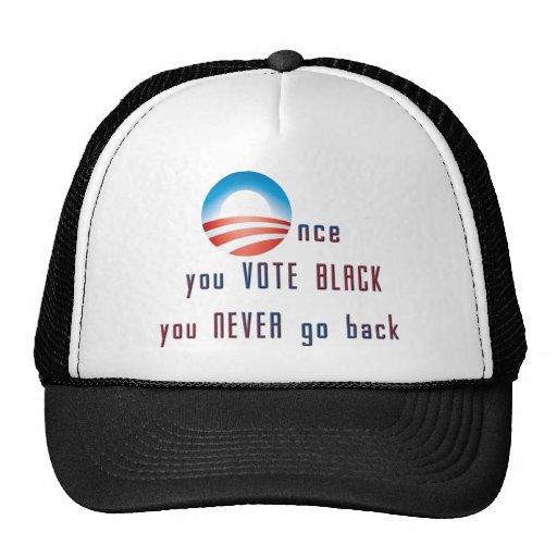 Once you VOTE BLACK, you never go back! Trucker Hat