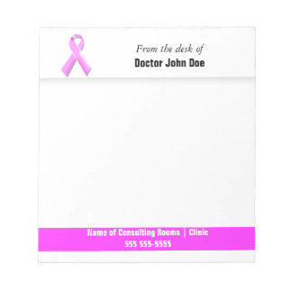 Oncologist breast cancer | Personalize Note Pad