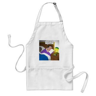 Oncologist Confusion Adult Apron