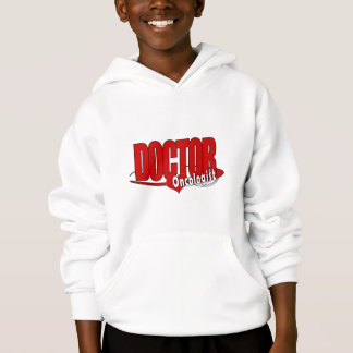 ONCOLOGIST LOGO BIG RED DOCTOR HOODIE