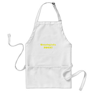 Oncologists Rock Adult Apron