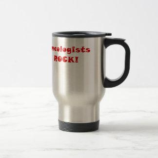 Oncologists Rock Travel Mug
