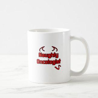 Oncólogo travieso taza de café