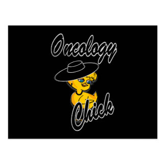 Oncology Chick #4 Postcard
