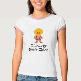 Oncology Nurse Chick Ringer T-shirt