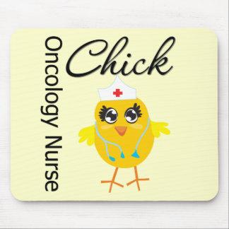 Oncology Nurse Chick v1 Mouse Pads