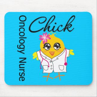 Oncology Nurse Chick v2 Mouse Pad