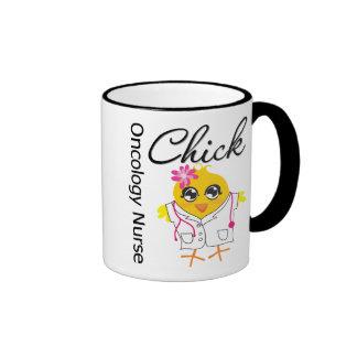 Oncology Nurse Chick v2 Ringer Mug