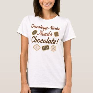 Oncology Nurse Chocolate T-Shirt