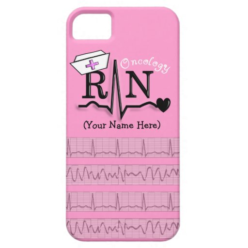 Oncology Nurse Design iPhone 5 Barely There Case iPhone 5 Cover