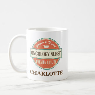 Oncology Nurse Personalized Office Mug Gift