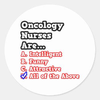 Oncology Nurse Quiz...Joke Stickers
