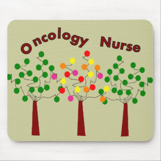 Oncology Nurse T-Shirts and Gifts Mouse Pads