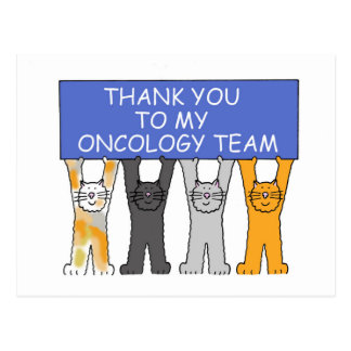 Oncology Team Thanks Postcard