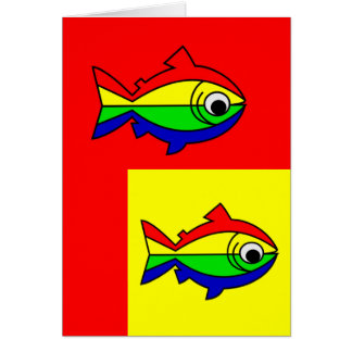 Oncor Hynchus Mykiss - Raibow Trout Card