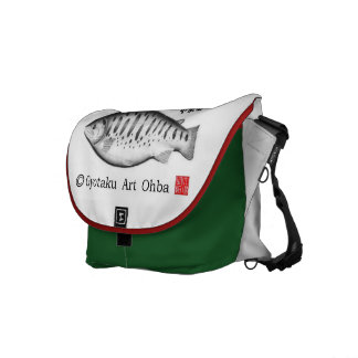 Oncorhynchus masou fish! Oncorhynchus masou bag JA Courier Bags