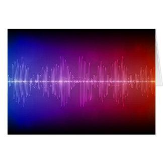 Onda acústica tarjeton