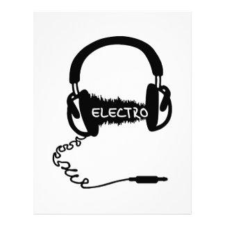 Onda audio electro Elektro MU de Kopfhörer de los  Membrete A Diseño