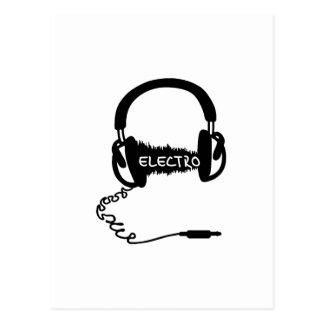 Onda audio electro Elektro MU de Kopfhörer de los Tarjeta Postal