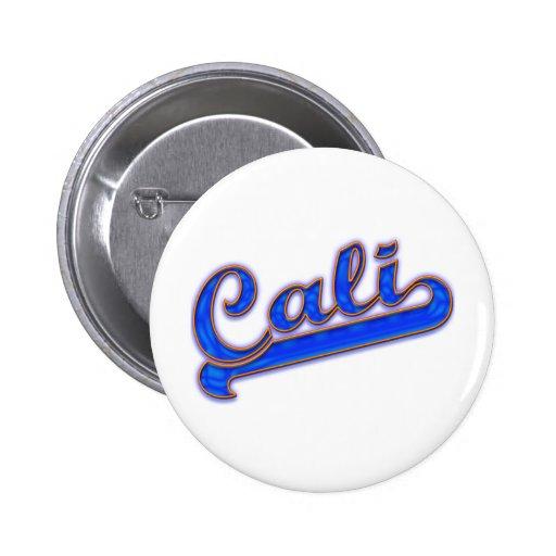Onda azul del logotipo de Cali Pins