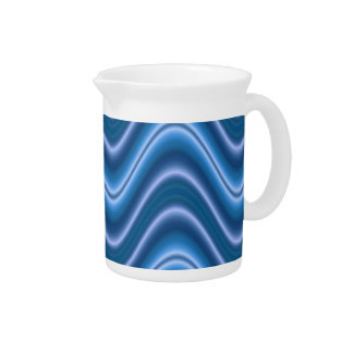 onda azul jarra para bebida