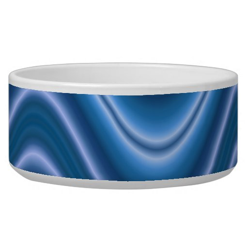 onda azul tazones para perro