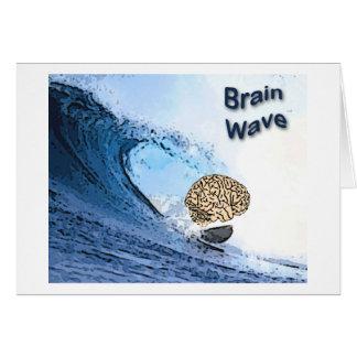 Onda cerebral tarjeta