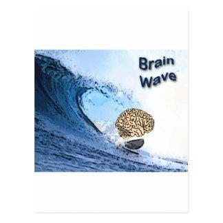 Onda cerebral tarjetas postales
