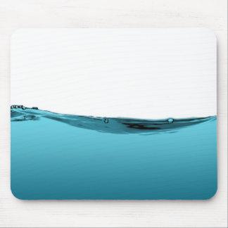 Onda de agua azul (TBA) Alfombrillas De Ratón