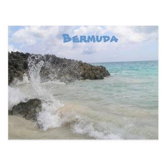 Onda de Bermudas Tarjeta Postal