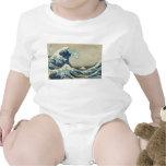 Onda de Kanagawa de Katsushika Hokusai Camiseta