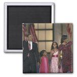 Onda de la familia de Barak Obama en el ayer por l Imán Cuadrado