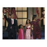 Onda de la familia de Barak Obama en el ayer por Postales
