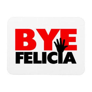 Onda de la mano de Felicia del adiós Imán