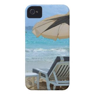 Onda de la playa del océano de los paisajes de la carcasa para iPhone 4