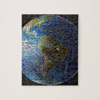 Onda de la tierra puzzle