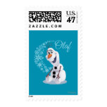 Onda de Olaf el | de copos de nieve Timbres Postales