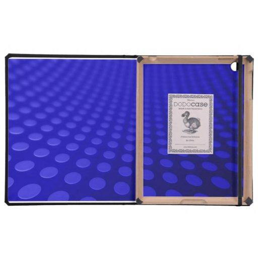 Onda de puntos azules iPad protector