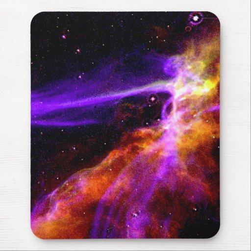 Onda de ráfaga de la supernova del lazo del Cygnus Alfombrilla De Raton