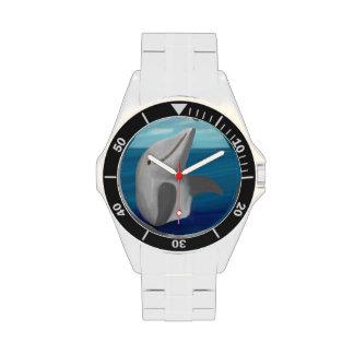 Onda del delfín relojes de pulsera