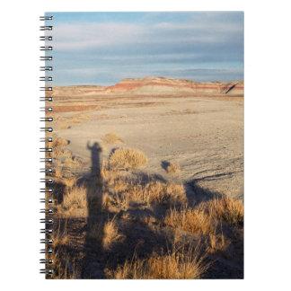 Onda del desierto: Parque nacional del bosque Spiral Notebook