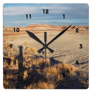 Onda del desierto: Parque nacional del bosque Reloj Cuadrado