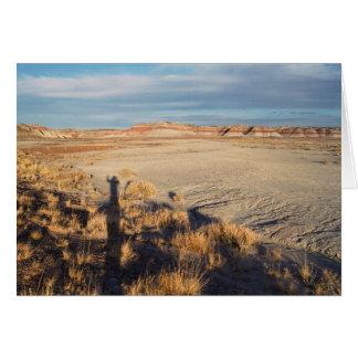 Onda del desierto: Parque nacional del bosque Tarjeta De Felicitación