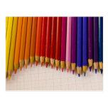 Onda del lápiz postales