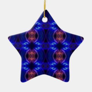 Onda del LED Adorno De Cerámica En Forma De Estrella
