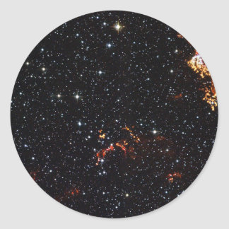 Onda expansiva en el remanente de la supernova de